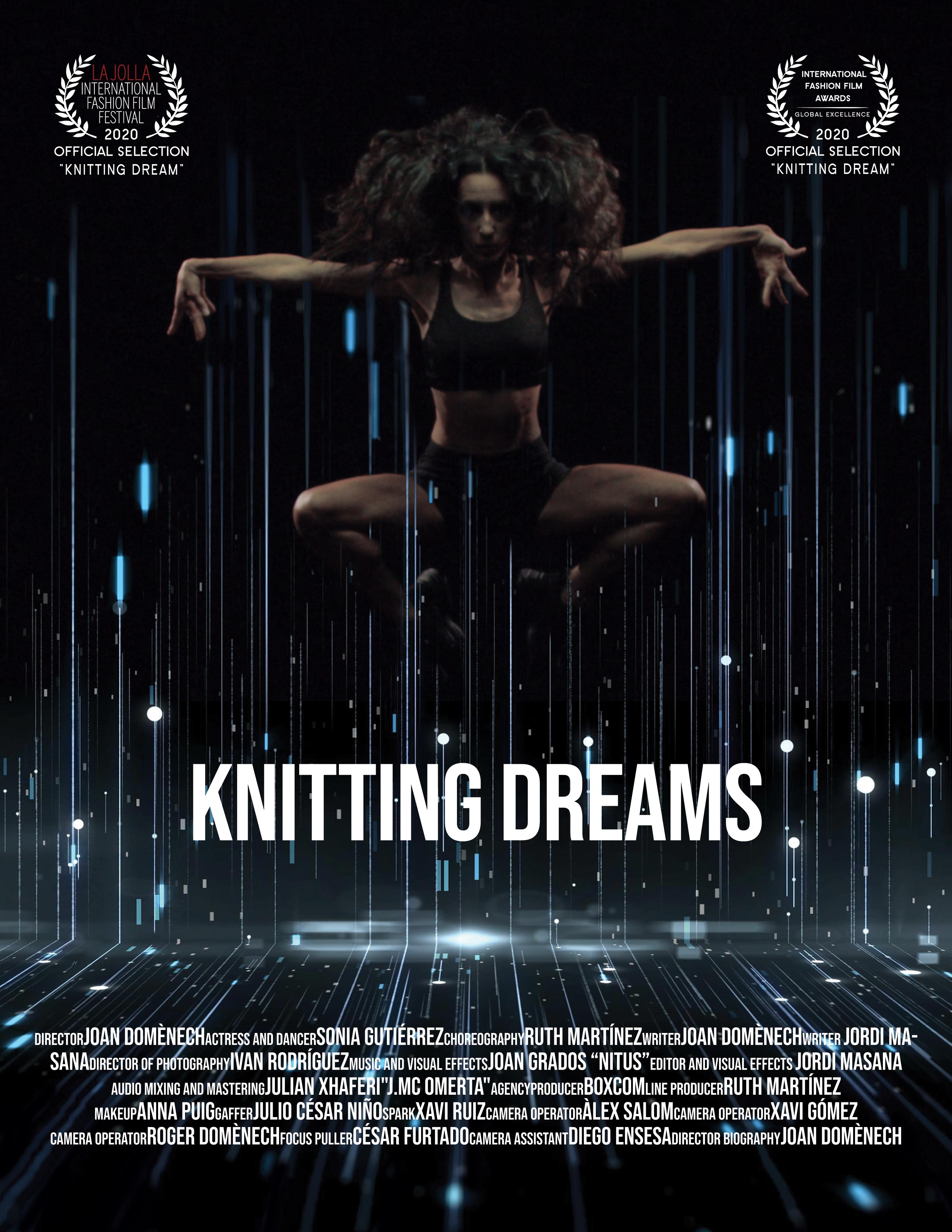 Poster Knitting Dreams